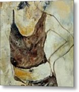 Young Girl  459070 Metal Print