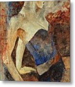 Young Girl  56901247 Metal Print