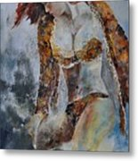 Young Girl 670508 Metal Print