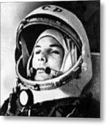 Yuri Gagarin 1934-1968., Russian Metal Print by Everett
