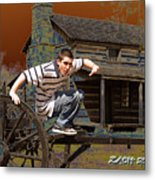 Zach  Metal Print