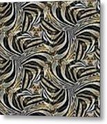 Zebra Vii Metal Print