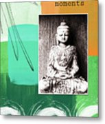 Zen Moments Metal Print