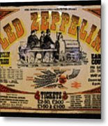 Zeppelin Express Metal Print