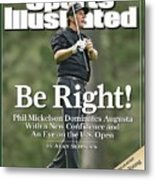 Phil Mickelson, 2006 Masters Sports Illustrated Cover Metal Print