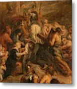 The Carrying Of The Cross, 1634 - 1637 Metal Print