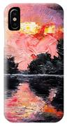 Sunset. After Storm. IPhone Case