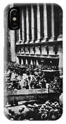Wall Street Crash 1929 IPhone Case