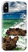 Blue Meets Green IPhone Case