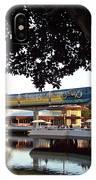 Epcot Tron Monorail IPhone Case