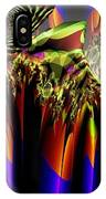 Fractal Torch IPhone Case