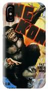 King Kong Poster, 1933 IPhone Case