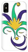 Mardi Gras Jester IPhone Case