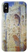 Monet: Rouen Cathedral IPhone Case