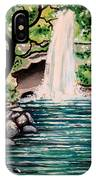 Mystical Waterfall IPhone Case