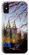 Slc Temple Lights Lamp IPhone Case
