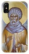 St Moses The Ethiopian IPhone Case