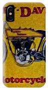 Vintage Harley Davidson IPhone Case