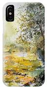 Watercolor  050906 IPhone Case