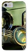 1956 Volkswagen Vw Bug Steering Wheel 2 IPhone Case