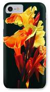 Yellow Cannas IPhone Case
