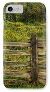 The Split Rail Meadow IPhone Case by Benanne Stiens