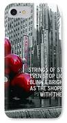 Busy Sidewalks IPhone Case by JAMART Photography