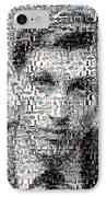 Bobby Fischer Chess Mosaic IPhone Case by Paul Van Scott