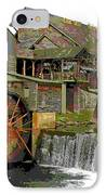 By The Old Mill Stream IPhone Case by Larry Bishop