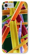 Caffeine Crystals, Sem IPhone Case by Dr Jeremy Burgess