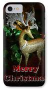 Christmas Card IPhone Case by Chris Brannen