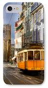Lisbon Tram IPhone Case