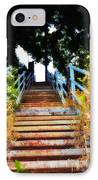 Manayunk Steps IPhone Case by Bill Cannon