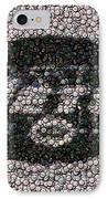 New York Jets Bottle Cap Mosaic IPhone Case