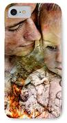 The Prophet On Love IPhone Case by Barry Novis