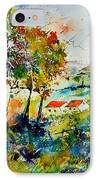 Watercolor 903001 IPhone Case