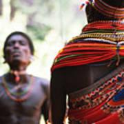 Samburu Tribe Poster