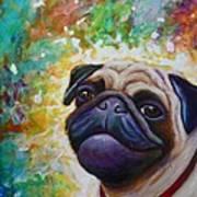 A Pugs World Art Print