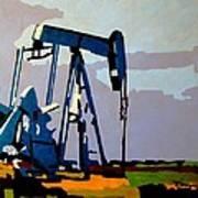 Oil Pump Art Print
