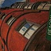 Beacon St Art Print by David Poyant