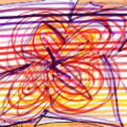 2007 Abstract Drawing 2 Art Print