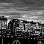 Pan Am Railways 618 616 609 Art Print by Bob Orsillo