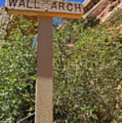 Wall Arch Arches Utah Art Print