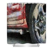 Car Rims 02 Photo Art 03 Shower Curtain