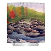 Cherokee Park Shower Curtain