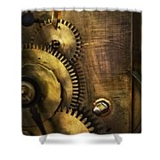 Steampunk - Toothy  Shower Curtain