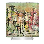Blow Me Down11 Shower Curtain