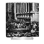 Wall Street Crash 1929 Shower Curtain