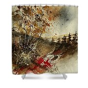 Watercolor 903052 Shower Curtain