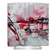 Abstract 12 Shower Curtain